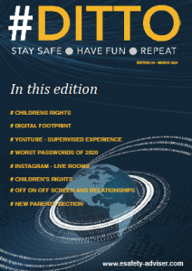DITTO - Online Safety magazine - March 2021