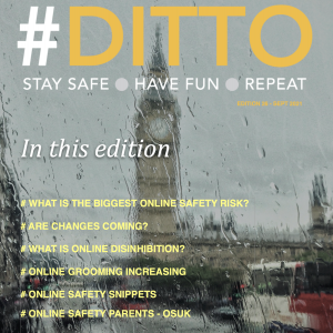 Cover of DITTO magazine